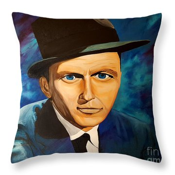 The Stare Of Throw Pillow
