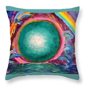 The Stargate Throw Pillow