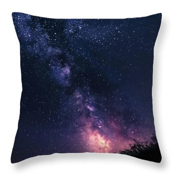 The Stargazer Throw Pillow