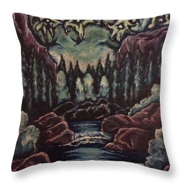 The Stars In Harmony Throw Pillow