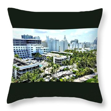 The Stay Throw Pillow