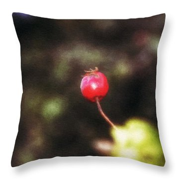 The Stayer Throw Pillow