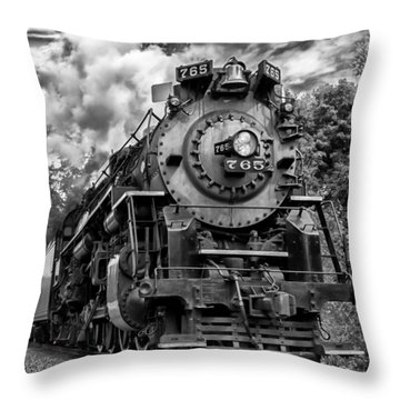 The Steam Age  Throw Pillow