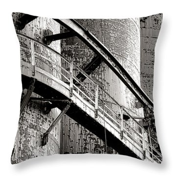 The Steel Citadel Throw Pillow