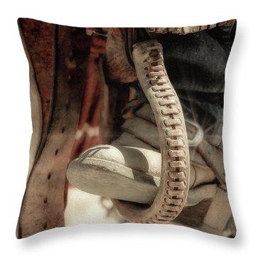 The Stirrup Throw Pillow