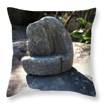 The Stone Throw Pillow