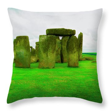 The Stones Throw Pillow