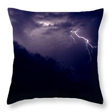 The Storm 1.3 Throw Pillow