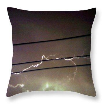 The Storm 1.4 Throw Pillow