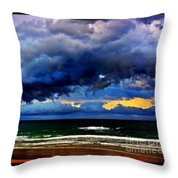 The Storm Roles In Throw Pillow by Blair Stuart