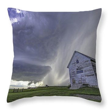 The Storm Will Pass Throw Pillow