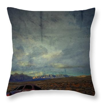 Throw Pillow featuring the photograph The Story Goes On  by Mark Ross