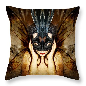 The Story Of What I Came To Be Throw Pillow