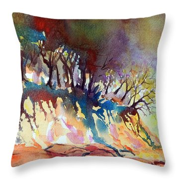 Oregon Wilderness Throw Pillow