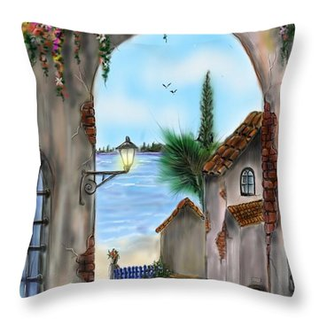 The Street Throw Pillow