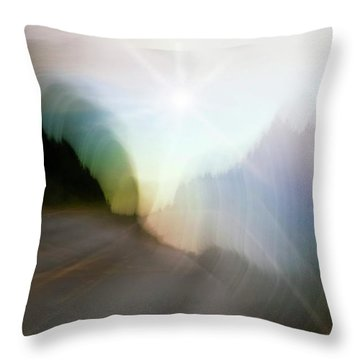 The Street Of Fantasy Throw Pillow by Heiko Koehrer-Wagner