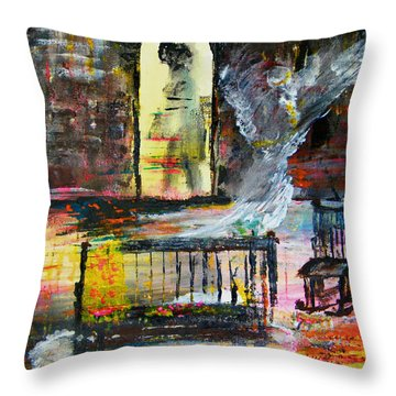 The Strength Of The Survivor One Throw Pillow