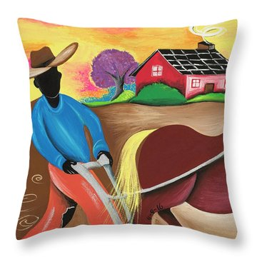 The Stride Of Pride Throw Pillow