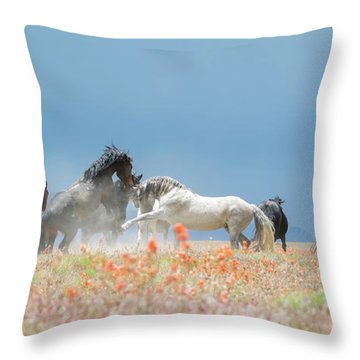 The Strike Throw Pillow