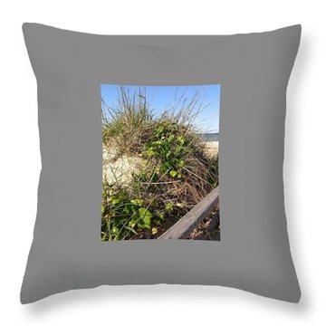 The Stroll To Water Throw Pillow