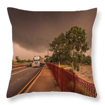 The Stuart And The Todd Throw Pillow