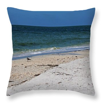 Throw Pillow featuring the photograph The Stuff That Never Happened by Michiale Schneider