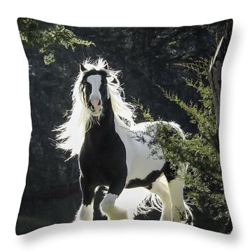 The Stunning Horse Throw Pillow