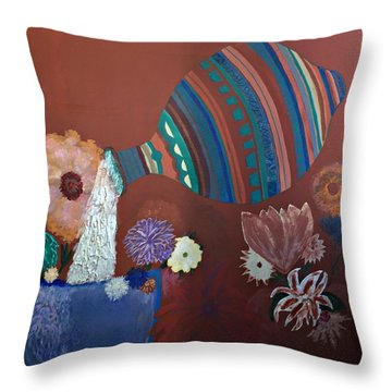 The Substance Of Life Throw Pillow