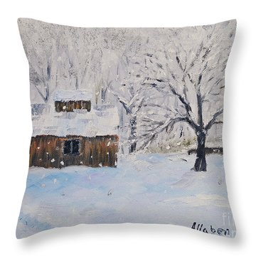 The Sugar House Throw Pillow