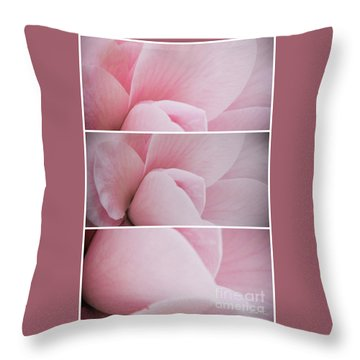 Throw Pillow featuring the photograph The Sum Of The Parts by Linda Lees