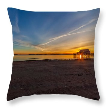 The Sun Also Rises Throw Pillow