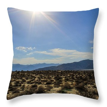 The Sun Throw Pillow