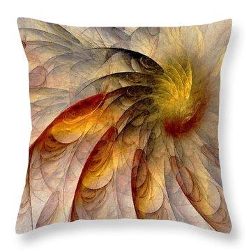 The Sun Do Move - Remembering Langston Hughes Throw Pillow