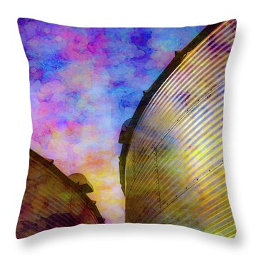 The Sun Sets The Stars Appear 4358 Idp_2 Throw Pillow
