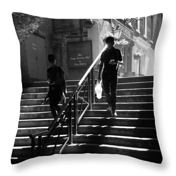 The Sunbeam Trilogy - Part 1 Throw Pillow