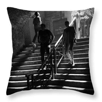 The Sunbeam Trilogy - Part 2 Throw Pillow