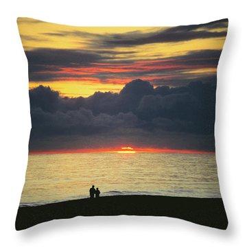 The Sundowners Throw Pillow
