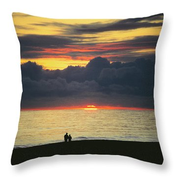 The Sundowners Throw Pillow