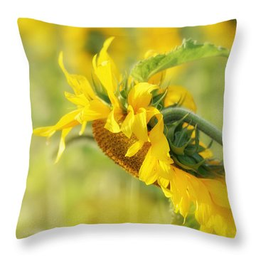 The Sunflower Throw Pillow