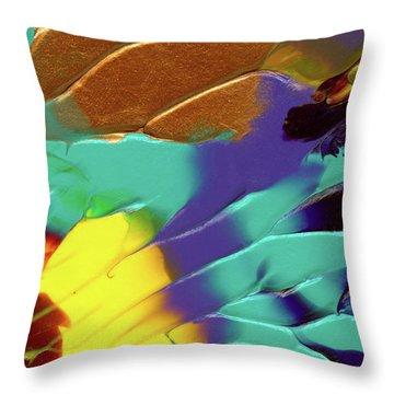 The Sunflower Throw Pillow