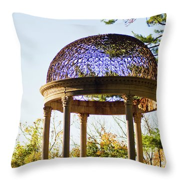 The Sunny Dome  Throw Pillow