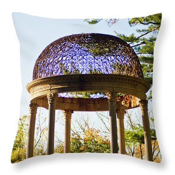 Throw Pillow featuring the photograph The Sunny Dome  by Jose Rojas