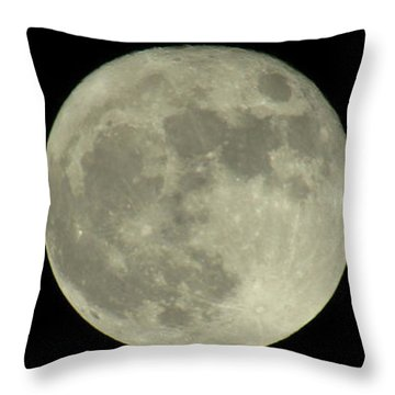 The Super Moon 3 Throw Pillow