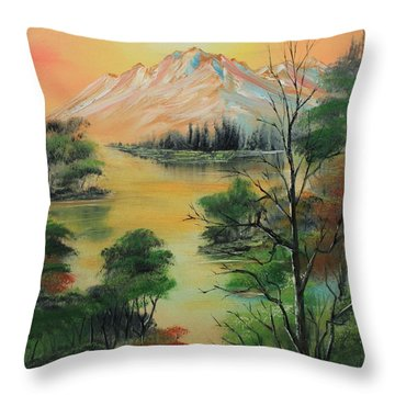 The Swamp 2 Throw Pillow