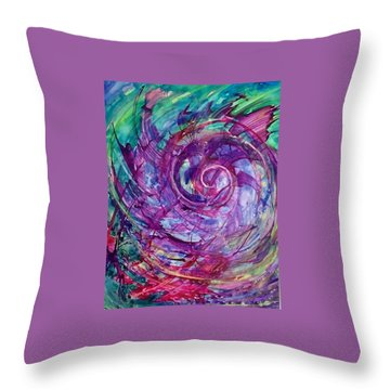 The Swell Throw Pillow