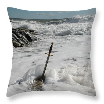 The Sword 2 Throw Pillow