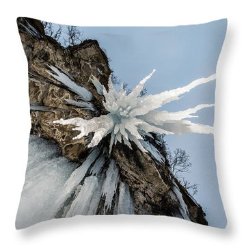 The Sword Of Damocles Throw Pillow