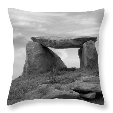 The Table - Ireland Throw Pillow by Mike McGlothlen
