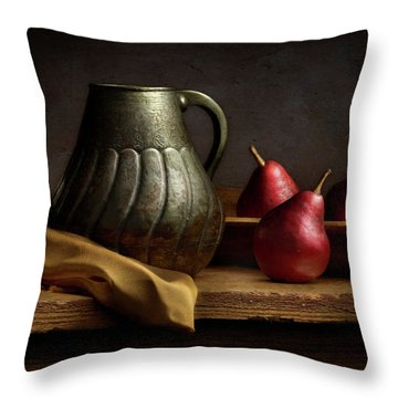 Throw Pillow featuring the photograph The Table by Cindy Lark Hartman