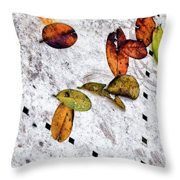 The Table Top Throw Pillow